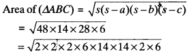 MP Board Class 9th Maths Solutions Chapter 12 Heron's Formula Ex 12.1 img-13