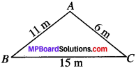 MP Board Class 9th Maths Solutions Chapter 12 Heron's Formula Ex 12.1 img-5