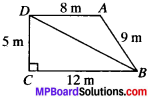 MP Board Class 9th Maths Solutions Chapter 12 Heron's Formula Ex 12.2 img-1