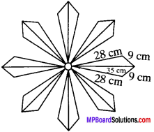 MP Board Class 9th Maths Solutions Chapter 12 Heron's Formula Ex 12.2 img-13