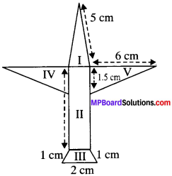 MP Board Class 9th Maths Solutions Chapter 12 Heron's Formula Ex 12.2 img-3