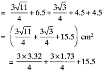 MP Board Class 9th Maths Solutions Chapter 12 Heron's Formula Ex 12.2 img-6