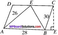 MP Board Class 9th Maths Solutions Chapter 12 Heron's Formula Ex 12.2 img-7
