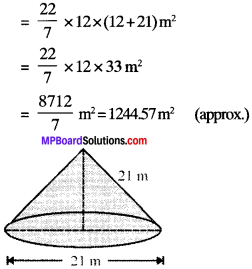 MP Board Class 9th Maths Solutions Chapter 13 Surface Areas and Volumes Ex 13.3 img-1