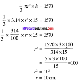 MP Board Class 9th Maths Solutions Chapter 13 Surface Areas and Volumes Ex 13.7 img-4