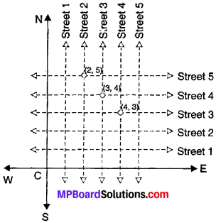 MP Board Class 9th Maths Solutions Chapter 3 Coordinate Geometry Ex 3.1 img-2