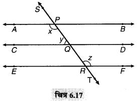 MP Board Class 9th Maths Solutions Chapter 6 रेखाएँ और कोण Ex 6.2 2