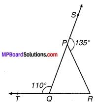 MP Board Class 9th Maths Solutions Chapter 6 रेखाएँ और कोण Ex 6.3 1