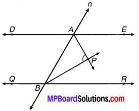 MP Board Class 9th Maths Solutions Chapter 6 रेखाएँ और कोण Ex 6.3 18