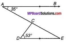 MP Board Class 9th Maths Solutions Chapter 6 रेखाएँ और कोण Ex 6.3 3