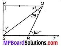 MP Board Class 9th Maths Solutions Chapter 6 रेखाएँ और कोण Ex 6.3 5