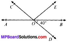 MP Board Class 9th Maths Solutions Chapter 6 Lines and Angles Ex 6.1 img-1