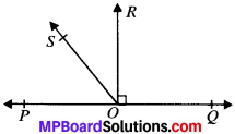MP Board Class 9th Maths Solutions Chapter 6 Lines and Angles Ex 6.1 img-5