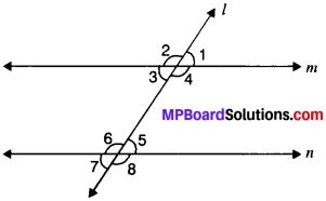 MP Board Class 9th Maths Solutions Chapter 6 Lines and Angles Ex 6.1 img-7