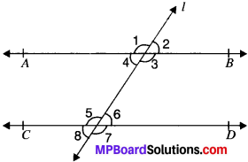 MP Board Class 9th Maths Solutions Chapter 6 Lines and Angles Ex 6.1 img-8