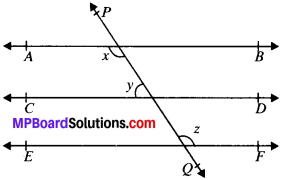 MP Board Class 9th Maths Solutions Chapter 6 Lines and Angles Ex 6.2 img-2