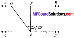 MP Board Class 9th Maths Solutions Chapter 6 Lines and Angles Ex 6.2 img-3