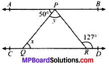 MP Board Class 9th Maths Solutions Chapter 6 Lines and Angles Ex 6.2 img-5