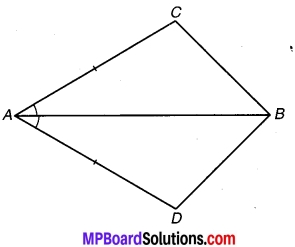 MP Board Class 9th Maths Solutions Chapter 7 त्रिभुज Ex 7.1 1