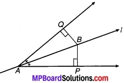 MP Board Class 9th Maths Solutions Chapter 7 त्रिभुज Ex 7.1 5