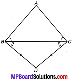 MP Board Class 9th Maths Solutions Chapter 7 त्रिभुज Ex 7.2 5