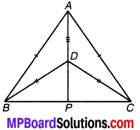 MP Board Class 9th Maths Solutions Chapter 7 त्रिभुज Ex 7.3 1