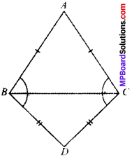 MP Board Class 9th Maths Solutions Chapter 7 Triangles Ex 7.2 img-5