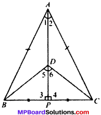 MP Board Class 9th Maths Solutions Chapter 7 Triangles Ex 7.3 img-1
