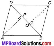 MP Board Class 9th Maths Solutions Chapter 8 चतुर्भुज Ex 8.1 10