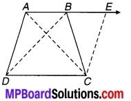 MP Board Class 9th Maths Solutions Chapter 8 चतुर्भुज Ex 8.1 12