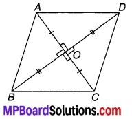 MP Board Class 9th Maths Solutions Chapter 8 चतुर्भुज Ex 8.1 2