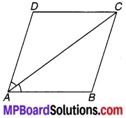 MP Board Class 9th Maths Solutions Chapter 8 चतुर्भुज Ex 8.1 6