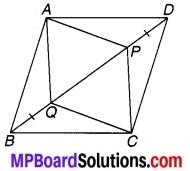 MP Board Class 9th Maths Solutions Chapter 8 चतुर्भुज Ex 8.1 9
