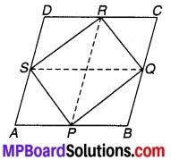 MP Board Class 9th Maths Solutions Chapter 8 चतुर्भुज Ex 8.2 2