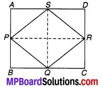 MP Board Class 9th Maths Solutions Chapter 8 चतुर्भुज Ex 8.2 3