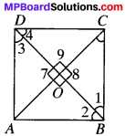 MP Board Class 9th Maths Solutions Chapter 8 Quadrilaterals Ex 8.1 img-5