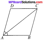 MP Board Class 9th Maths Solutions Chapter 8 Quadrilaterals Ex 8.1 img-6