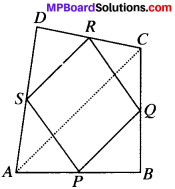 MP Board Class 9th Maths Solutions Chapter 8 Quadrilaterals Ex 8.2 img-1
