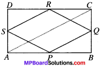 MP Board Class 9th Maths Solutions Chapter 8 Quadrilaterals Ex 8.2 img-2