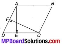 MP Board Class 9th Maths Solutions Chapter 9 समान्तर चतुर्भुज और त्रिभुजों के क्षेत्रफल Ex 9.2 1