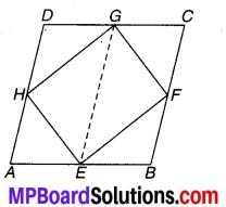 MP Board Class 9th Maths Solutions Chapter 9 समान्तर चतुर्भुज और त्रिभुजों के क्षेत्रफल Ex 9.2 2