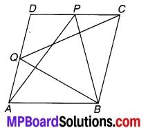 MP Board Class 9th Maths Solutions Chapter 9 समान्तर चतुर्भुज और त्रिभुजों के क्षेत्रफल Ex 9.2 3