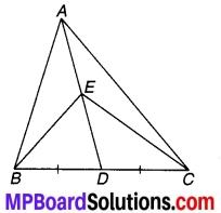MP Board Class 9th Maths Solutions Chapter 9 समान्तर चतुर्भुज और त्रिभुजों के क्षेत्रफल Ex 9.3 1