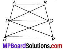 MP Board Class 9th Maths Solutions Chapter 9 समान्तर चतुर्भुज और त्रिभुजों के क्षेत्रफल Ex 9.3 16