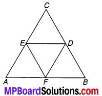 MP Board Class 9th Maths Solutions Chapter 9 समान्तर चतुर्भुज और त्रिभुजों के क्षेत्रफल Ex 9.3 5