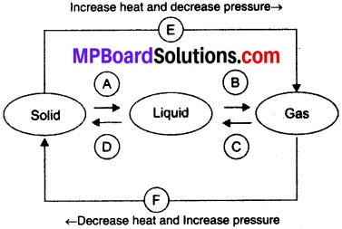 MP Board Class 9th Science Solutions Chapter 1 Matter in Our Surroundings 2