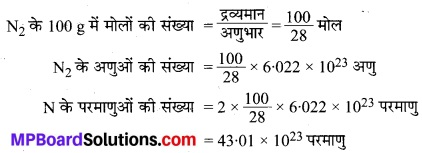 MP Board Class 9th Science Solutions Chapter 3 परमाणु एवं अणु image 15