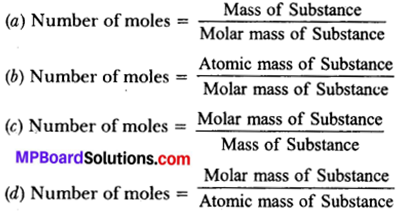 MP Board Class 9th Science Solutions Chapter 3 Atoms and Molecules 3