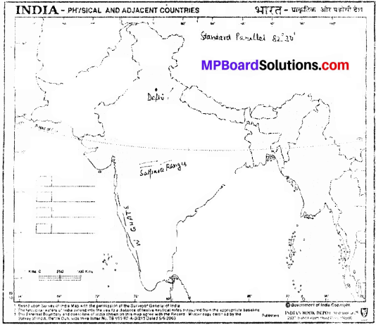 MP Board Class 9th Social Science Solutions Chapter 8 Map Reading and Numbering - 18 - Copy