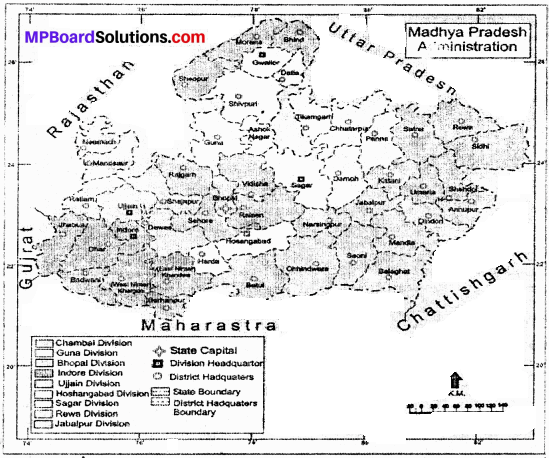 MP Board Class 9th Social Science Solutions Chapter 8 Map Reading and Numbering - 5 - Copy